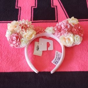 Minnie Mouse Floral Ears